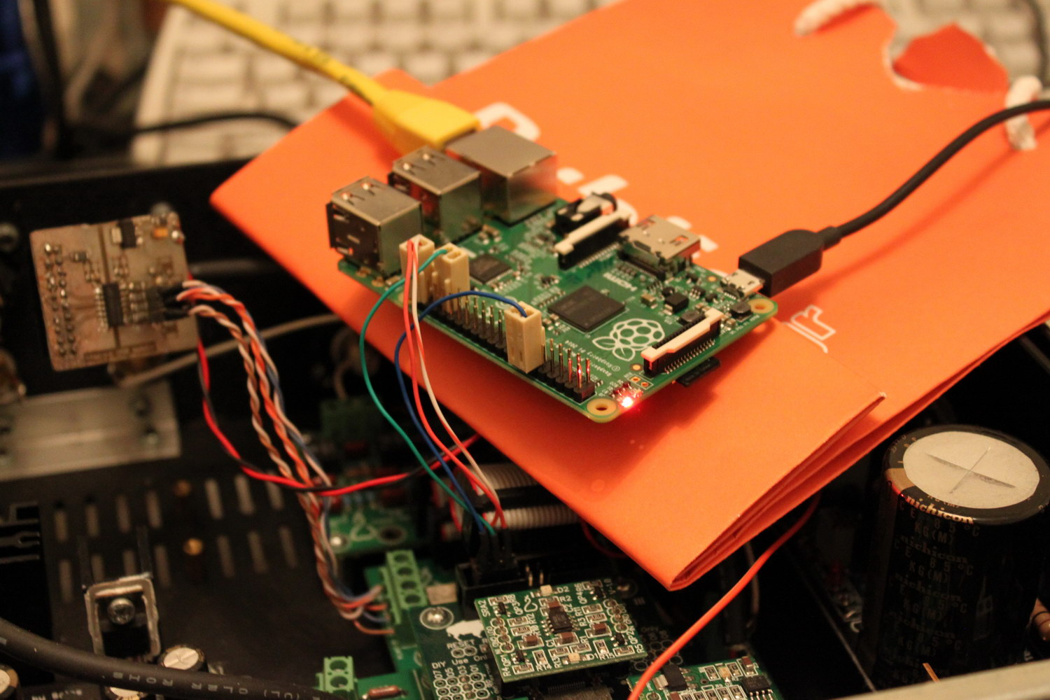 The Raspberry Pi: Audio out through I2S | Dimdim's Blog