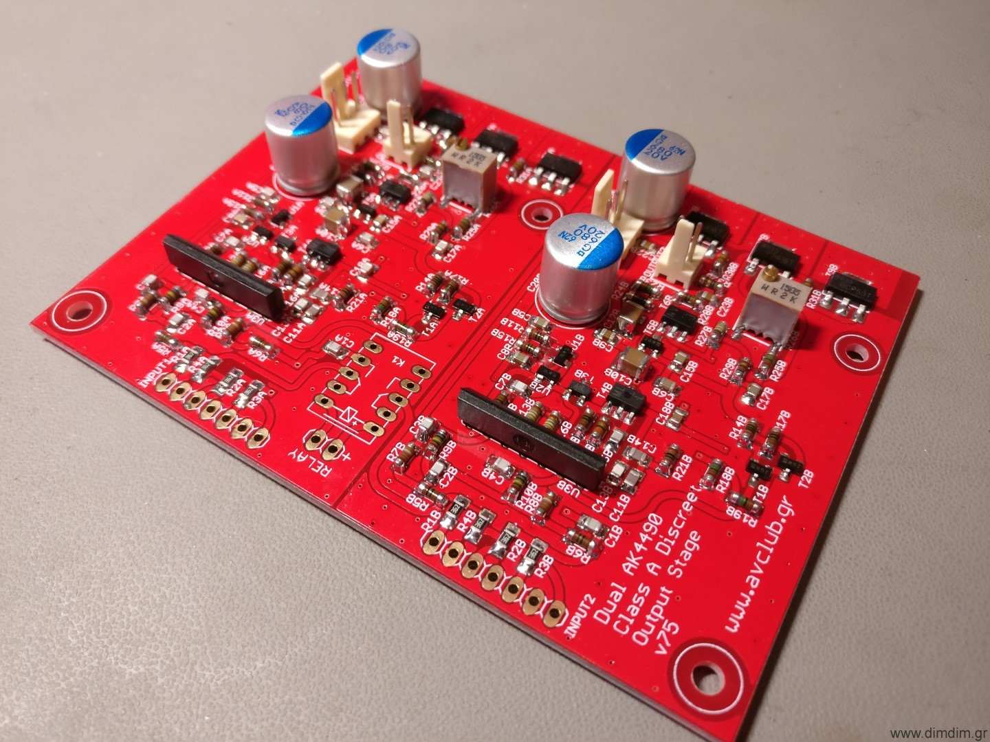 Dimdims Blog Diy Audio Arduino Computers Music Page 2 Class D Schematic Help Needed Diyaudio It Is A Fully Discreet Single Ended Output Stage Outputting 24v Rms